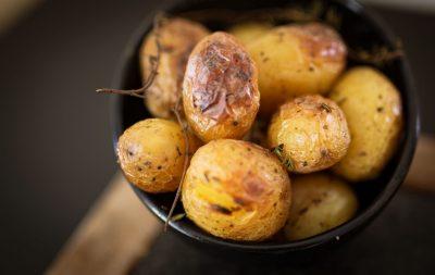 Patatas Asadas Leña Restaurante Italiano Alicante Horno Josper